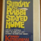 Sunday The Rabbi Stayed Home Harry Kemelman Large Type Edition Book