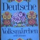 Deutsche Volkmarchen seit Grimm German Fischer 1974