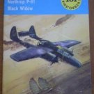 Nocny samolot mysliwski Northrop P-61 Black Widow Book Typy Broni 101