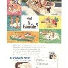 Evinrude Outboard Motor Vintage Ad 1961