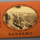 San Remo Photograph Souvenir Folder Stampa Angeli Terni Vintage