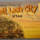 Salt Lake City Utah Souvenir Folder Photographs album