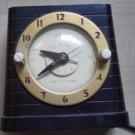 Vintage Clock Techron Switch Alarm Warren Telechron 8H61 Household Timer Brown