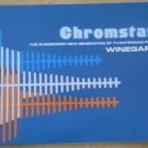 Chromstar Winegard TV Antennas Brochure Ad Vintage Fold-out