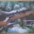 Weatherby Step Up To Perfection 1974 Catalog Brochure