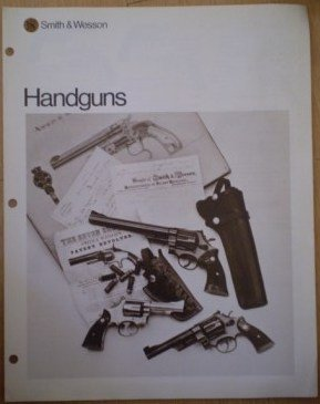 Smith Wesson Handguns Catalog Brochure Leaflet 01-1174-12