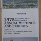 1975 National Rifle Association Annual Meetings Exhibits Program