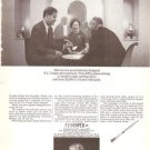 F J Cooper Silver Designer 1968 Vintage Ad