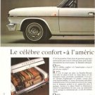Renault Rambler 2-page Vintage Ad 1966 French Car