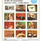 Pan Am Airlines Vintage Ad 1966 French