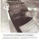 Perrier Jouet Champagne Vintage Ad 1966 French