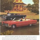 Cadillac Best Friends Chauffeurs Car Vintage Ad 1966