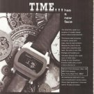 Solex Time Company Digital Watch Vintage Ad 1970