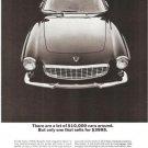 Volvo 1800S Car 1800 S Vintage Ad 1965