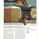Mercedes Benz MB 220S Daimler Car Vintage Ad 1965