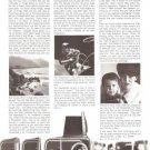 Hasselblad System Camera 500c Vintage Ad 1967