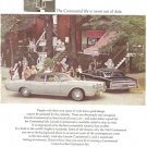 Lincoln Continental Ford Vintage Ad 1967 Silver Mist Sedan