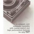 Garrard Pace Setting 50 Mk II Turntable Vintage Ad 1967