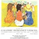 Epko Galerie Romanet Vercel Sur la plage Vintage Ad 1965