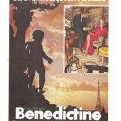 Benedictine La Grande Licqueur Francaise Vintage Ad 1973