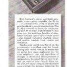 Garrard Synchro Lab Motor Series Turntable Vintage Ad 1968
