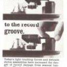 Garrard Lab 80 Ingenious Tone Arm Cueing Control Turntable Vintage Ad 1966