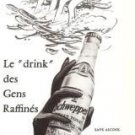 Schweppes Indian Tonic Vintage Ad 1966