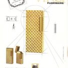 Vinci Flaminaire Lighter Gold French Vintage Ad 1965
