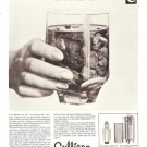 Culligan Water Treatment Filter French Vintage Ad 1965