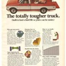 Totally Tougher Truck Chevrolet Cheyenne Chevy 1971 Vintage Ad