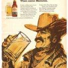 Theodore Hamm's Frontier Beer 1971 Vintage Ad