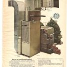 General Electric Air Conditioner GE Equipment Vintage Ad 1971