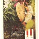 Viceroy Cigarettes Garden Vintage Ad 1971
