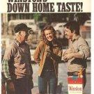 Winston Cigarette Down Home State Vintage Ad 1971