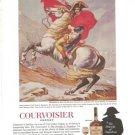 Courvoisier Cognac Napoleon Bonaparte Jacques Louis David Vintage Ad 1967