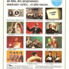 Pan Am Airlines Entertainment French Vintage Ad 1966