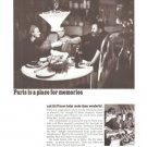 Air France Paris Place for Memories 1967 Vintage Ad