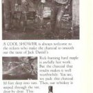Jack Daniel's Whiskey Cool Shower Vintage Ad 1978