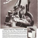 AEG Dishwasher  Vintage Ad May 1966 French