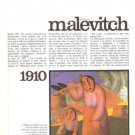Malevitch 6p French Article May 1966 Jean Clay Artist