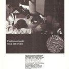 Carl Zeiss Optics Instruments Microscope Vintage Ad May 1966 French