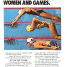 Fuji Film Captures Drama Beauty Emotion 2p Vintage Ad 1984 Olympic Games
