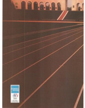 American Express World Gathers for Main Event 2-page Vintage Ad 1984 Olympic Games