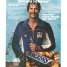 Snickers John Siman Water Polo Team Vintage Ad 1984 Olympic Games