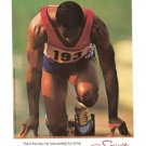 Adidas Spirit of Games Runner Vintage Ad 1984 Olympic Games
