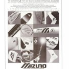 Mizuno Corporation Our Stage is the World Sporting Ahtletic Goods Vintage Ad 1984 Olympics