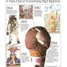 Baskin Robbins Ice Cream Stores Vintage Ad 1984 Olympics