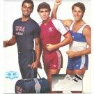 USA Adidas Running Shorts Singlet Vintage Ad 1984 Olympics