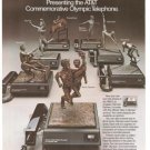 AT&T Commemorative Olympic Telephone Vintage Ad 1984 Olympics