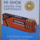 Federal Cartridge Corp Hi SHok Center Fire Catalog Brochure FCC 455